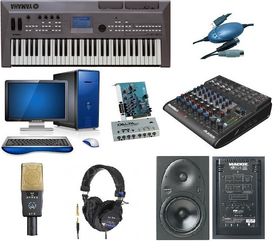 Astonishing Home Recording Studio Equipment Gallery Largest Home Design Picture Inspirations Pitcheantrous