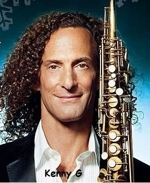 Kenny G, famous saxophone player