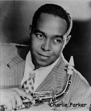charlie parker, famous saxophone player