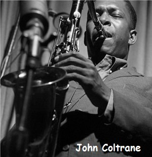 John Coltrane, famous saxophone player