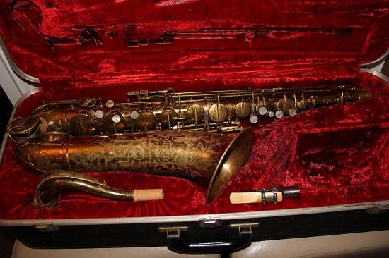 Vintage Martin Saxophone, Martin Saxophone